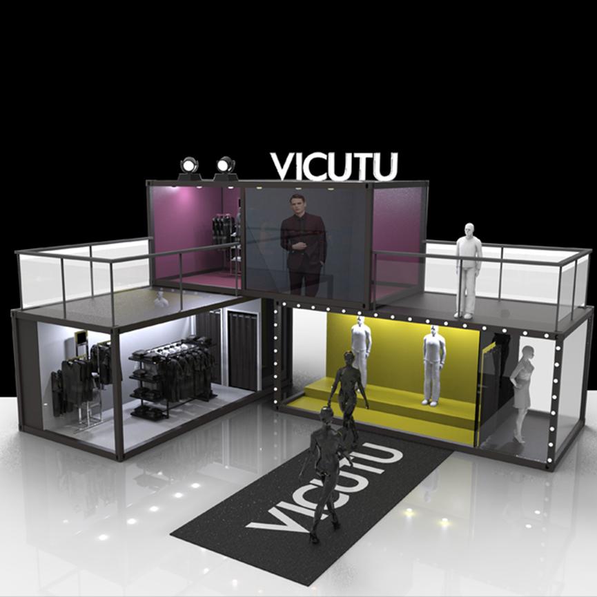 威可多VICUTU秋季時裝發布移動展覽館